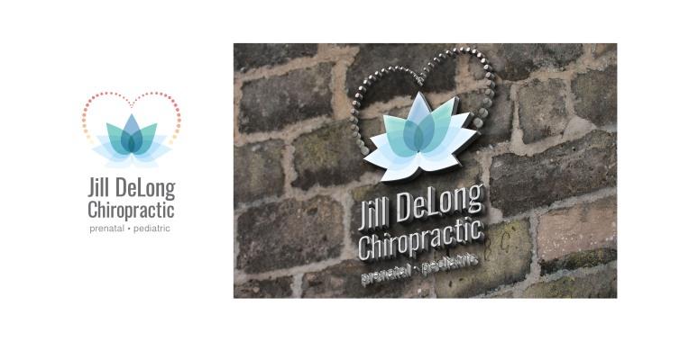 Jill DeLong Chiropractic Logo