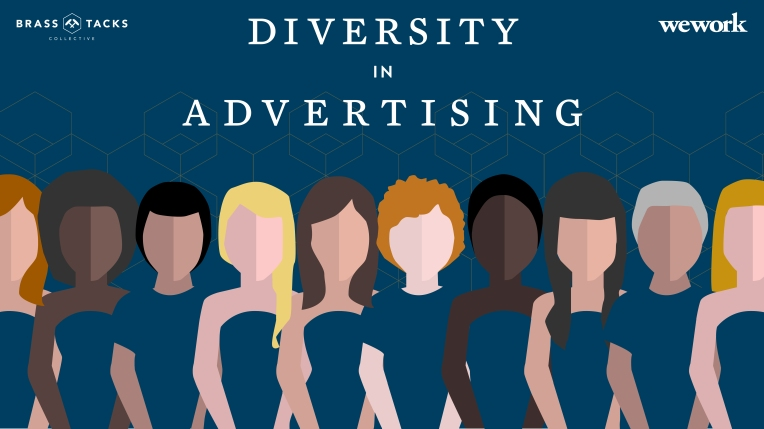 Illustration for Brass Tacks Collective Diversity in Advertising Panel Discussion