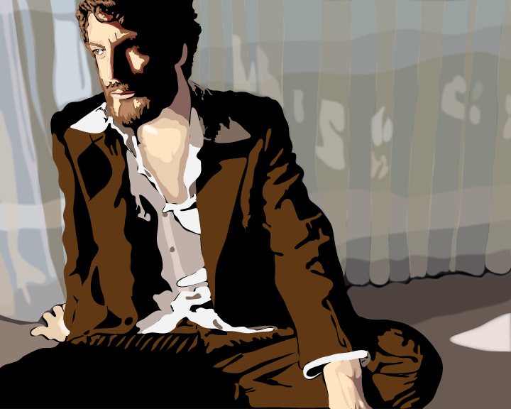 Illustration of Ray LaMontagne