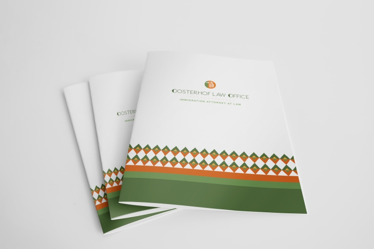 Oosterhof Law Office Presentation Folders