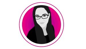 Self Portrait Illustration of Yva Barbour