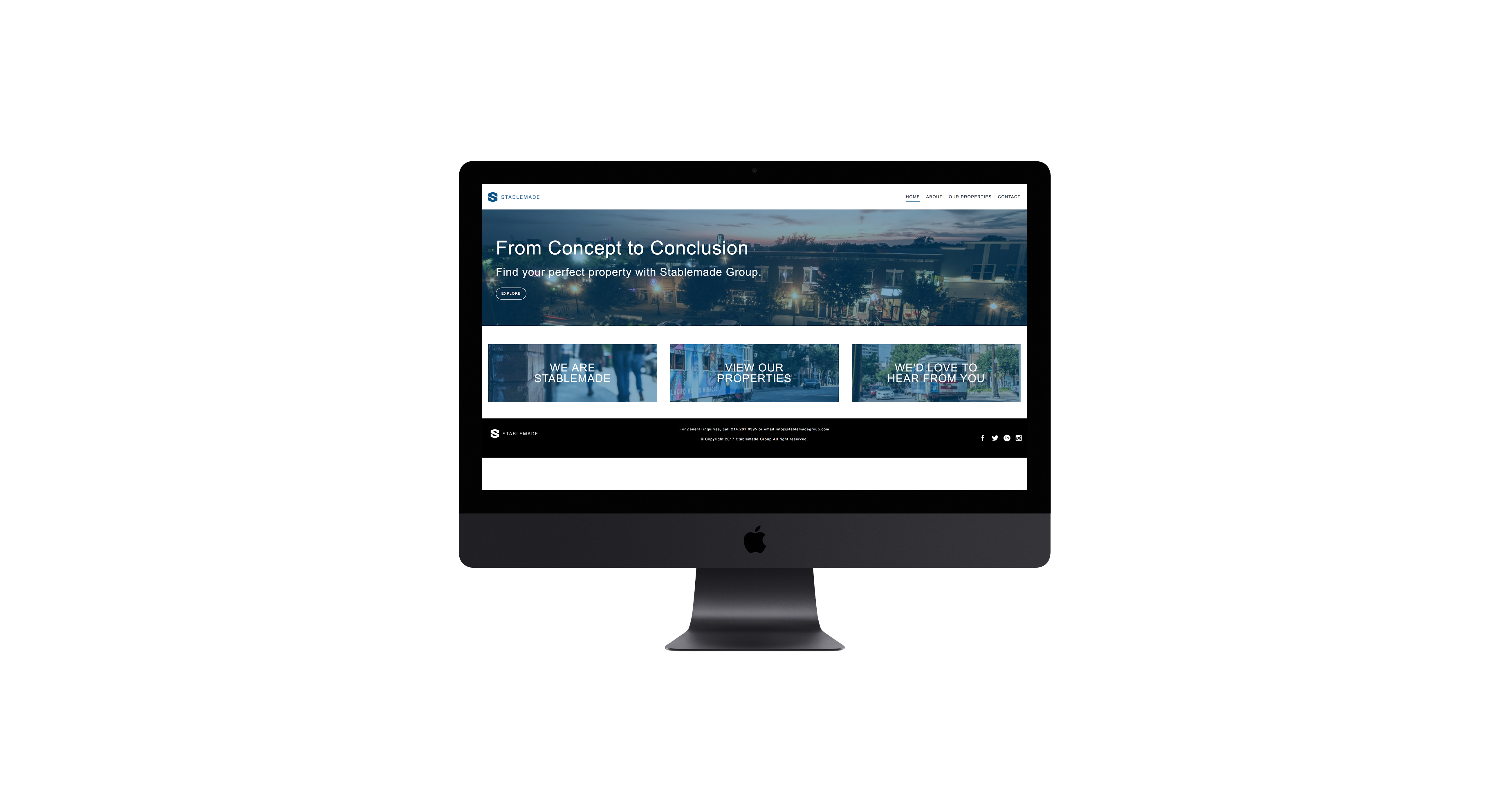 Stablemade Group Website