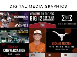 Digital Media Graphics for the Big 12