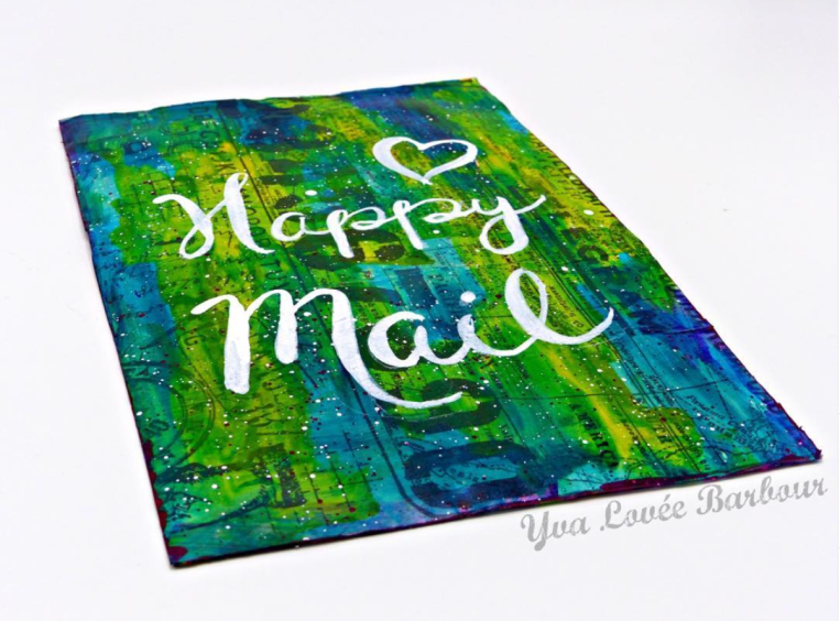 Yva Barbour Mail Art front